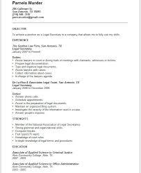 example sample resume