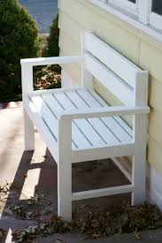 Simple Park Bench Plans Free by Diy Simple Garden Bench Myoutdoorplans Free Woodworking Plans