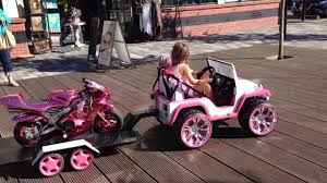 jeep power wheels for girls custom power wheels youtube