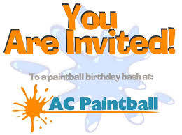 paintball birthday parties in new jersey ac paintball