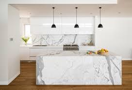 marmorplatte küche weiße marmor küchen 75 ideen für den einsatz marmor