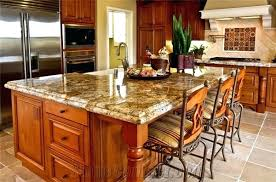 kitchen island with granite kitchen island tops home design