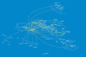Tahiti Map World by All Our Destinations Air Tahiti