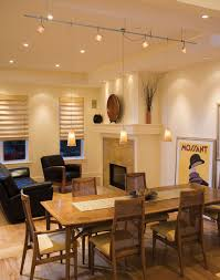 awesome dining room track lighting photos home ideas design