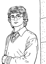 Harry Potter Coloring Pages Free Printable free printable harry potter coloring pages for
