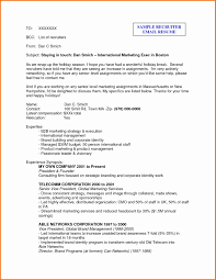best solutions of resume cv cover letter sample email to send