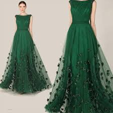 fashionable zuhair murad evening dress 2015 emerald green tulle