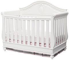 White Convertable Crib Disney Princess Magical Dreams 4 In 1 Convertible Crib By Delta
