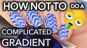 simply nailogical how not to do complicated gradient nails