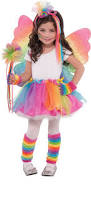 fairy princess halloween costume create your own girls u0027 rainbow fairy costume accessories party city