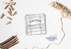 rustic baby shower favor tags boy baby shower favor tags