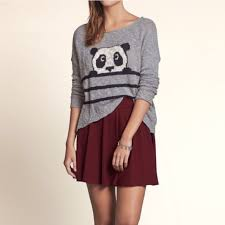 panda sweater hollister hollister panda sweater from emilie s closet on