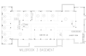 Rectangle Floor Plans Millbrook Floor Plans Washington University In St Louis