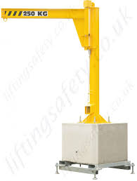 portable jib crane u0027h u0027 section lifting beam range from 125kg to