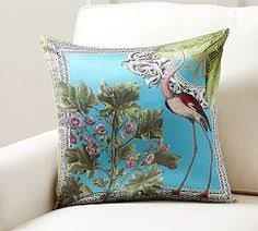 chevron crewel embroidered lumbar pillow cover 59 50 decorative