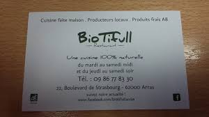 cuisine arras carte du restaurant picture of biotifull arras tripadvisor