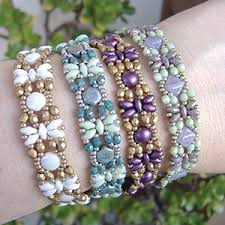 around the beading table bracelet patterns