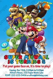 269 best kids b day images on pinterest super mario bros