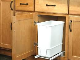 Kitchen Cabinet Slide Out Shelves Kitchen Cabinet Trash Can Charming Pull Out Drawers For Kitchen