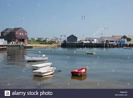 massachusetts nantucket harbor view stock photo royalty free