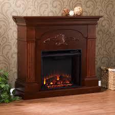 shop boston loft furnishings 44 75 in w 4700 btu mahogany wood