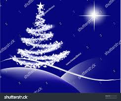 vector tree lights bethlehem stock vector 21715147