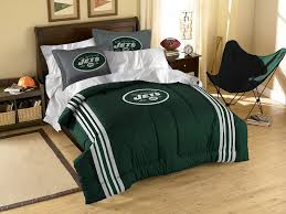 amazon com nfl new york jets twin full size comforter with sham amazon com nfl new york jets twin full size comforter with sham set sports fan bedding sports outdoors