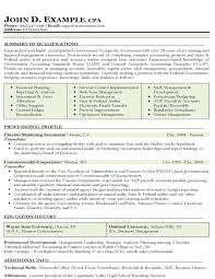 Staff Accountant Resume Examples Accounting Resume Template Sr Accounting Manager Executive Top