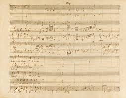 Write Music On Staff Paper Online Mozart Wolfgang Fine Autograph M Europe Sotheby S