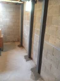 Bowing Basement Wall by The Powerbrace System Permanently Stabilizes Your Home U0027s