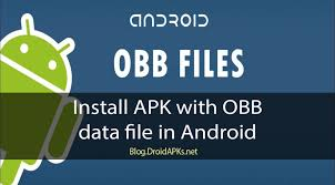 how to apk on android install apk with obb data droidapks net