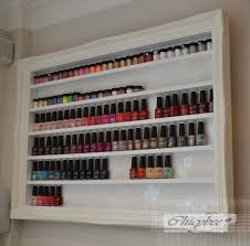 white large nail polish stand beauty u0026 make up display and storage
