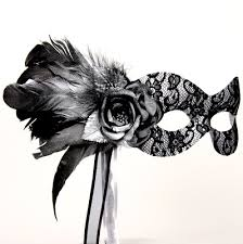silver masquerade masks for women black masquerade masks for women black and silver stick