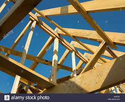 Prefabricated Roof Trusses Self Building House Constructing Roof Prefabricated Roof Trusses