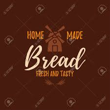 home and design logo set of bakery badges with bread pastry icons and design elements