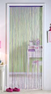 boyd string curtain doorway partition w glider roller system