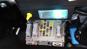 fuse box location in a 2013 ford focus youtube