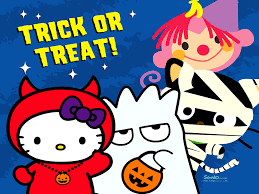 animated halloween desktop wallpaper hello kitty halloween desktop wallpaper
