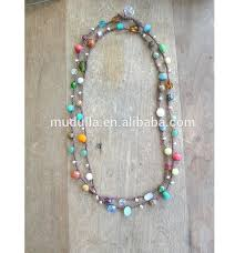 color beads necklace images N15092401 gemstone beads necklace candy color beads necklace long jpg