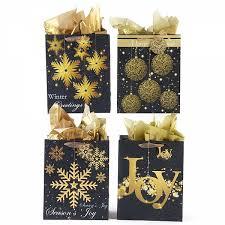 gold gift bags large glittering gold glitter christmas gift