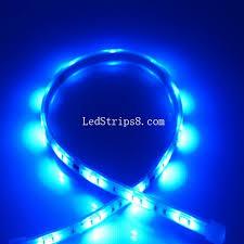 5m blue 150 leds tri chip 12 volt led lighting