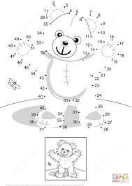 dot to dot bear kids coloring europe travel guides com