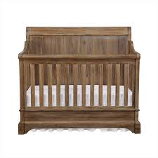 bertini pembrooke 4 in 1 convertible crib natural rustic