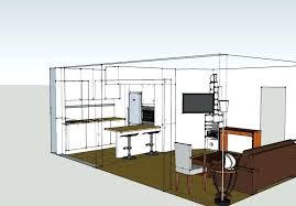plan cuisines plan salon cuisine sejour salle manger plans cuisines photo gallery