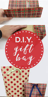 best 25 diy gift bags from wrapping paper ideas on pinterest