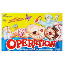 operation board game target