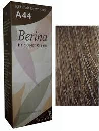 Colors To Dye Brown Hair Hair Color Dye Berina Light Matt Brown A44