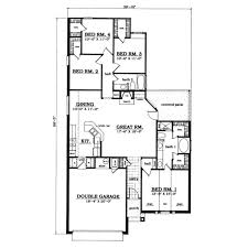 plan42 traditional style house plan 4 beds 2 00 baths 1696 sq ft plan
