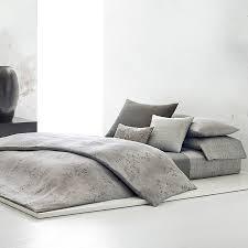 Black And Gray Duvet Cover Buy Calvin Klein Acacia Grey Duvet Cover Amara
