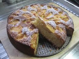 recette de cuisine de nos grand mere pâtisserie gâteau aux pommes façon grand mère